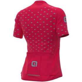 Alé Cycling PRR Stars SS Jersey Women, rojo/Turquesa